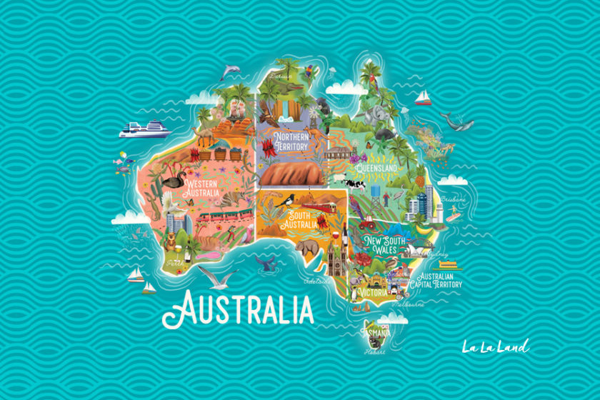 australia-quiz-knowledge-map-lalaland